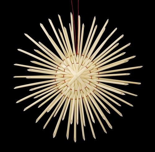 Diy Polish Star Ornament: Straw Star - Gwiazda - Polish Art Center
