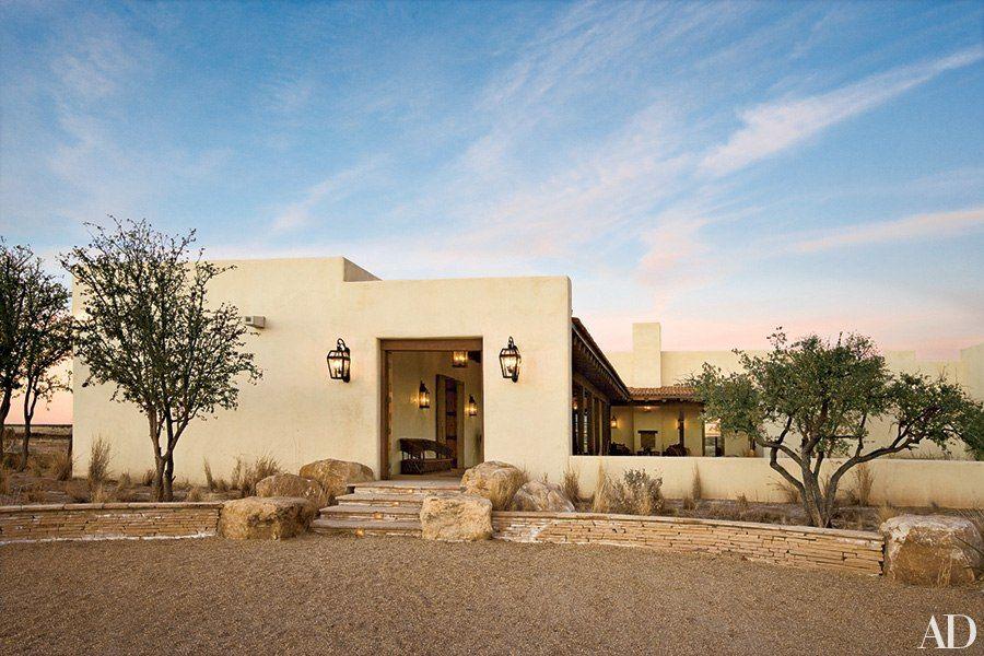 12 Dazzling Desert Home Exteriors Haciendas and San antonio