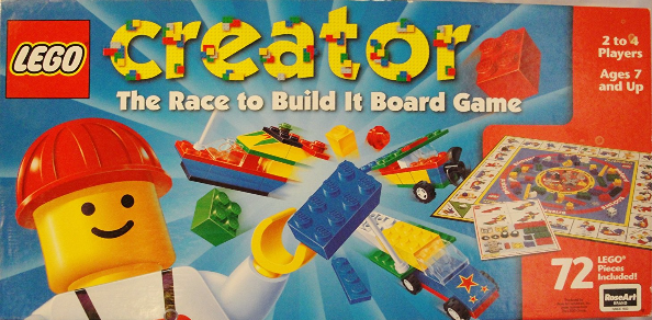 LEGO Creator The Race to Build It Board Game Board games