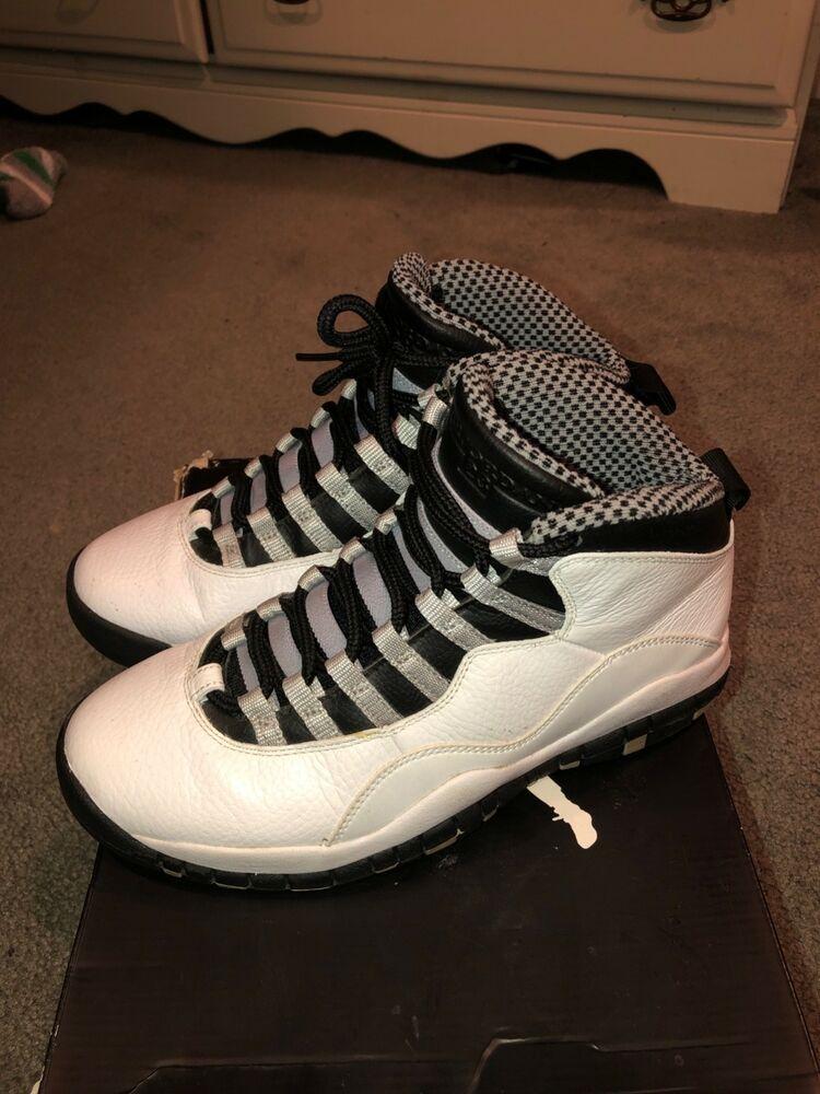 Air Jordan Retro 10 Steel Size 7