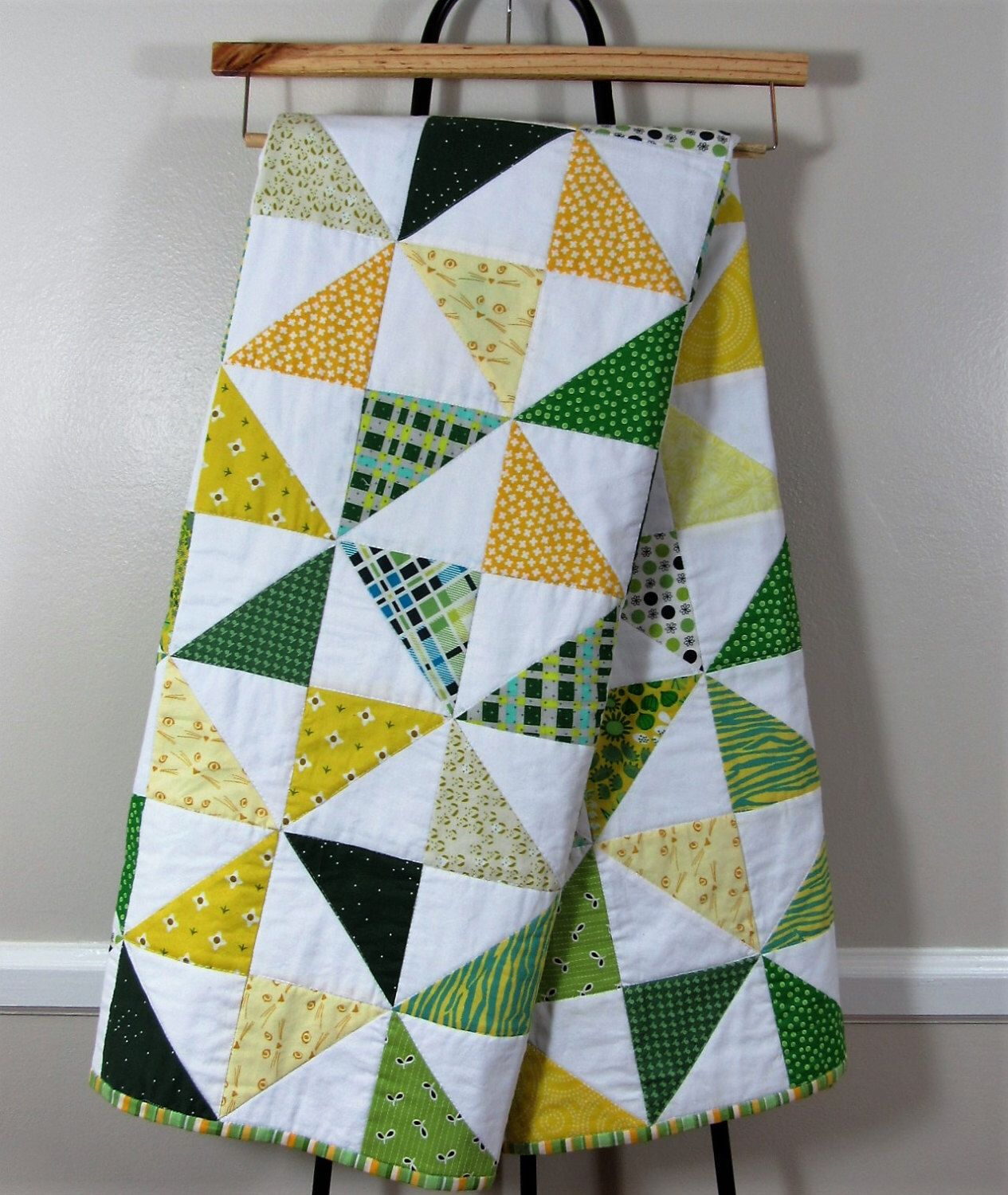 Baylor University Quilt, Oregon Quilt, Pinwheel Quilt, Gender ... : gender neutral quilts - Adamdwight.com