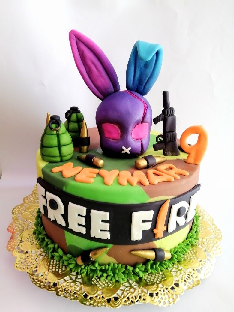 Torta Free Fire Desserts Cake Birthday Cake