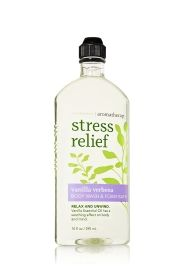 Stress Relief - Vanilla Verbena Body Wash & Foam Bath - Aromatherapy - Bath & Body Works