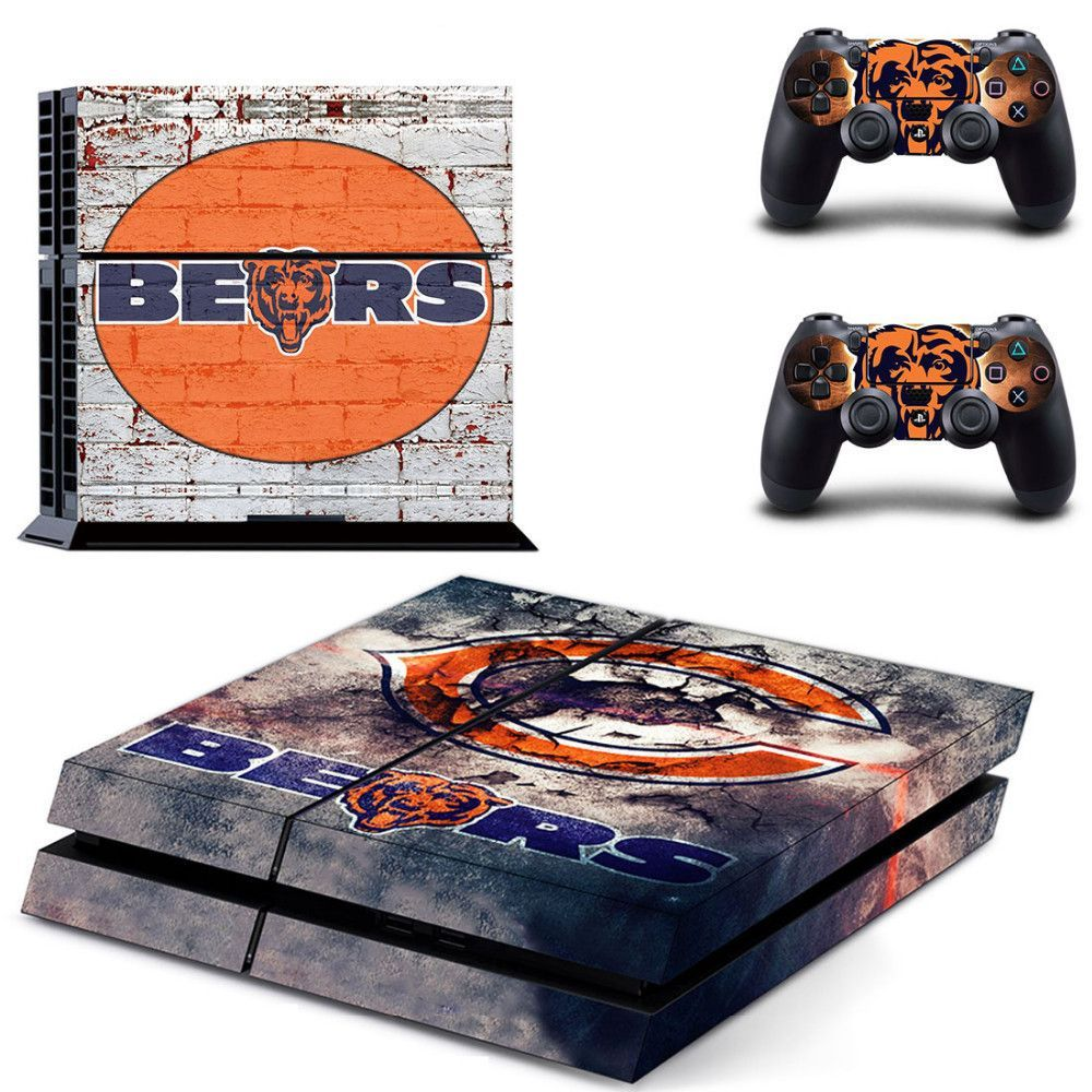 Bears Faceplates, Decals & Stickers Sony Ps4 Slim Skin Decal Sticker Vinyl Wrap