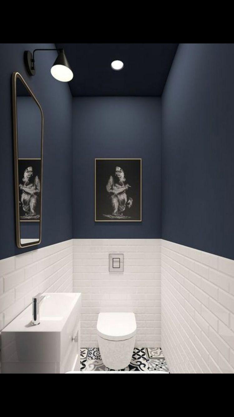 salle d eau sde pinterest salle de bain toilettes. Black Bedroom Furniture Sets. Home Design Ideas