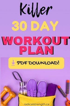 30 day fitness challenge full body workout routines