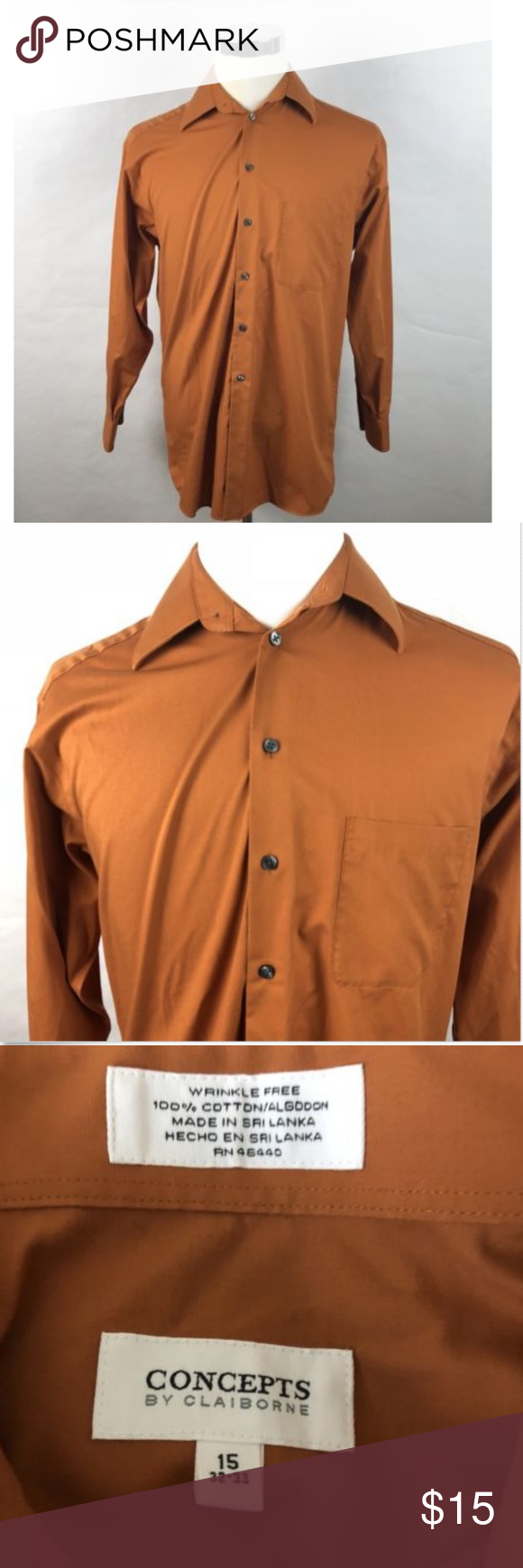 Concepts By Claiborne Dress Shirt In 2018 My Posh Closet