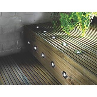 Order online at screwfix metal and acrylic construction deck metal and acrylic construction deck lights with polished stainless aloadofball Choice Image