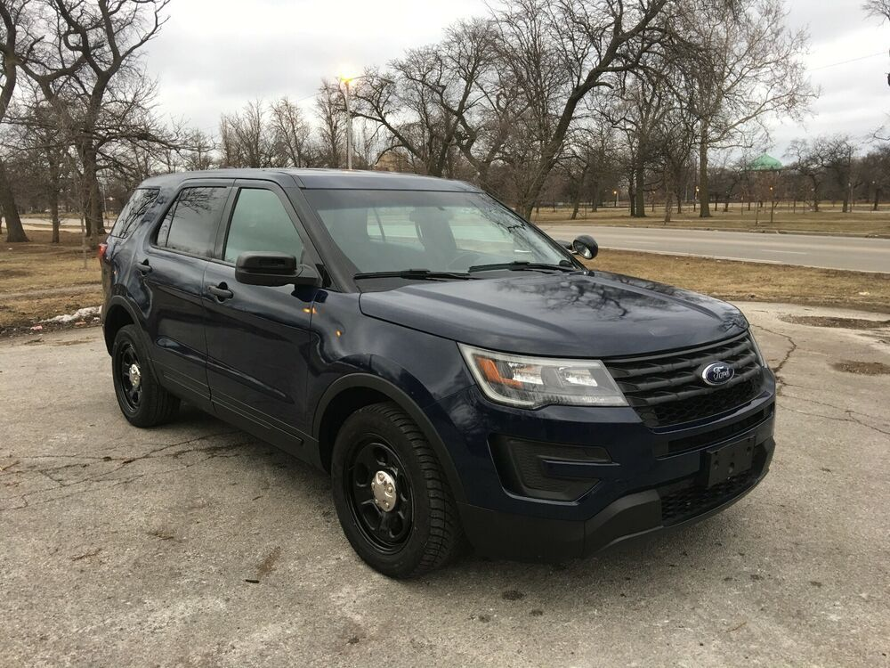 Ebay Advertisement 2016 Ford Explorer Police Interceptor 2016