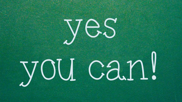 Yes you can #inspirationalquotes #quotes #quote #inspiration #inspirationalquote #quoteoftheday #motivation #motivationalquotes #positivethinking #inspirational #life