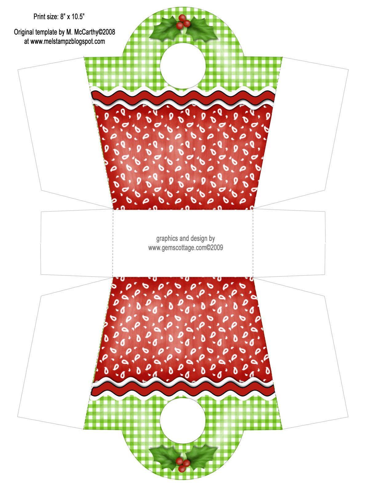 Gem S Cottage Blog A Blog Archive Creating Christmas Week 5 Christmas Gift Box Paper Box Template Diy Gift Box