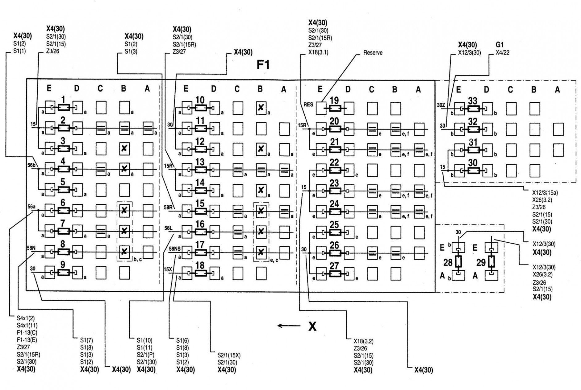 2001 Mitsubishi Montero Sport Fuse Box Diagram Wiring
