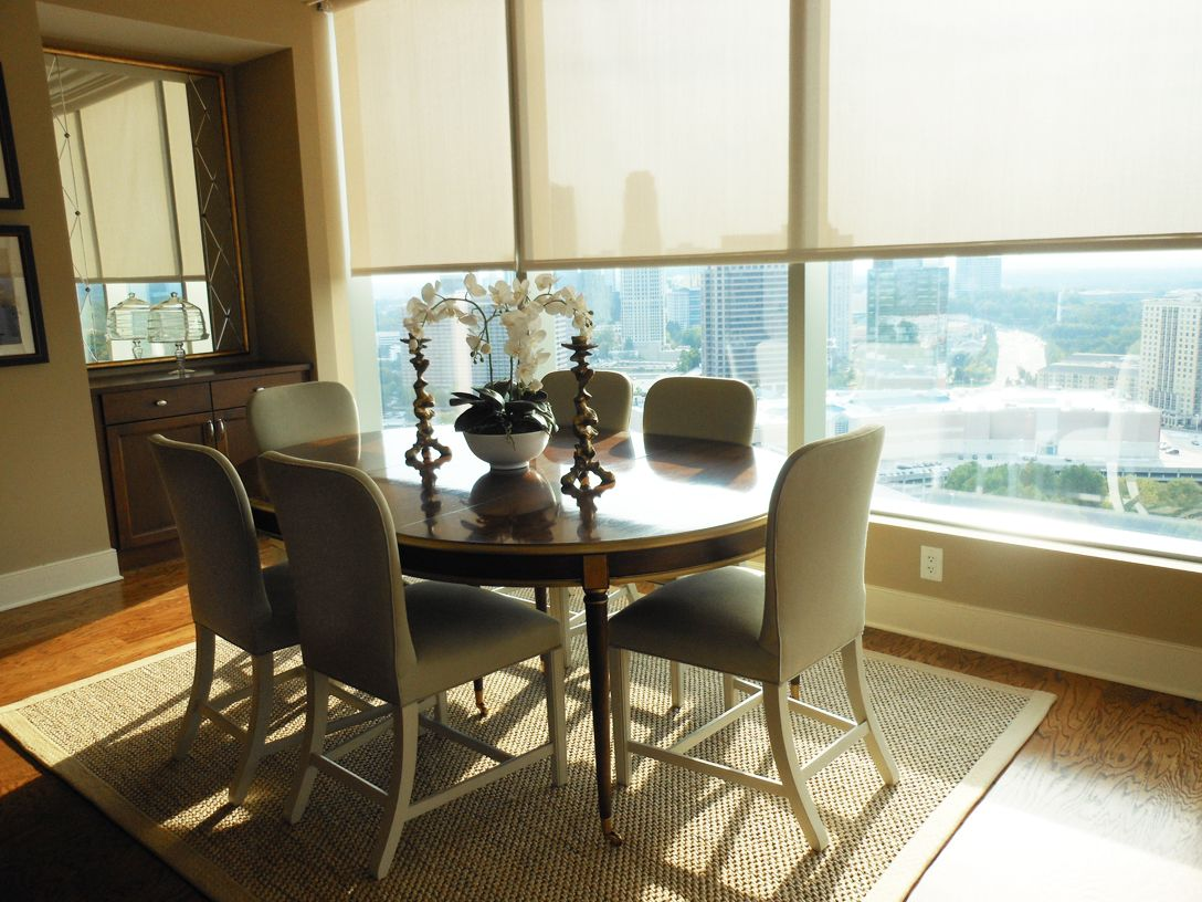 The Ritz Carlton Residences In Atlanta  Nina Nash & Don Awesome Hickory Dining Room Chairs Inspiration Design