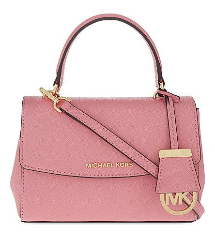 8ed8aab830fd MICHAEL MICHAEL KORS Ava Extra Small Saffiano Leather Cross Body Bag.   michaelmichaelkors  bags  leather
