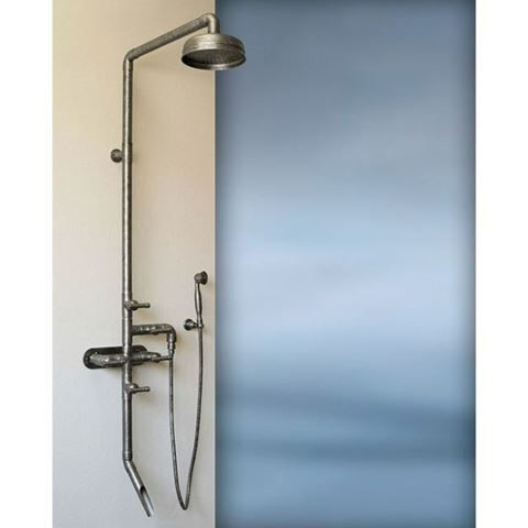 exposed shower system. Sonoma Forge Waterbridge 880 Exposed Shower System With Tub Filler And Handshower | \u0026 Faucets Pinterest Systems, Faucet Tubs A