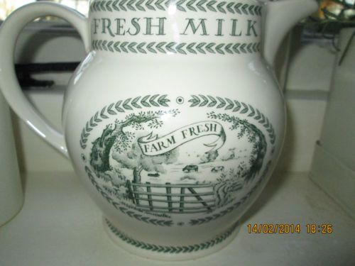 Emma Bridgewater Dairy Jug Country House Collection National Trust Rare Bridgewater Emma Bridgewater Pottery Pottery Cafe