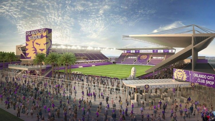 Orlando City Soccer Stadium Httpostadiumcomstadiumorlando - 10 soccer stadiums you need to visit