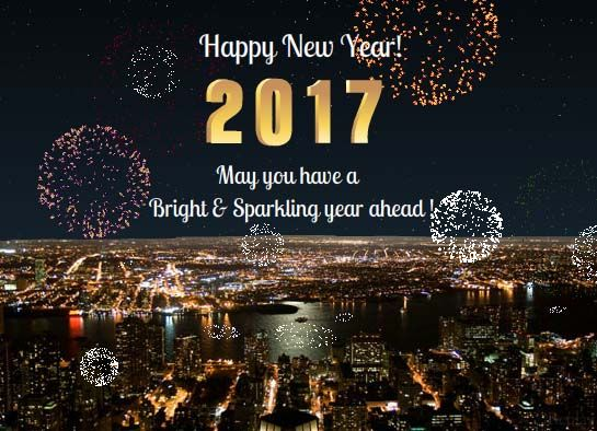 123greetings Com Send An Ecard New Year Wishes New Year 2017 E Cards