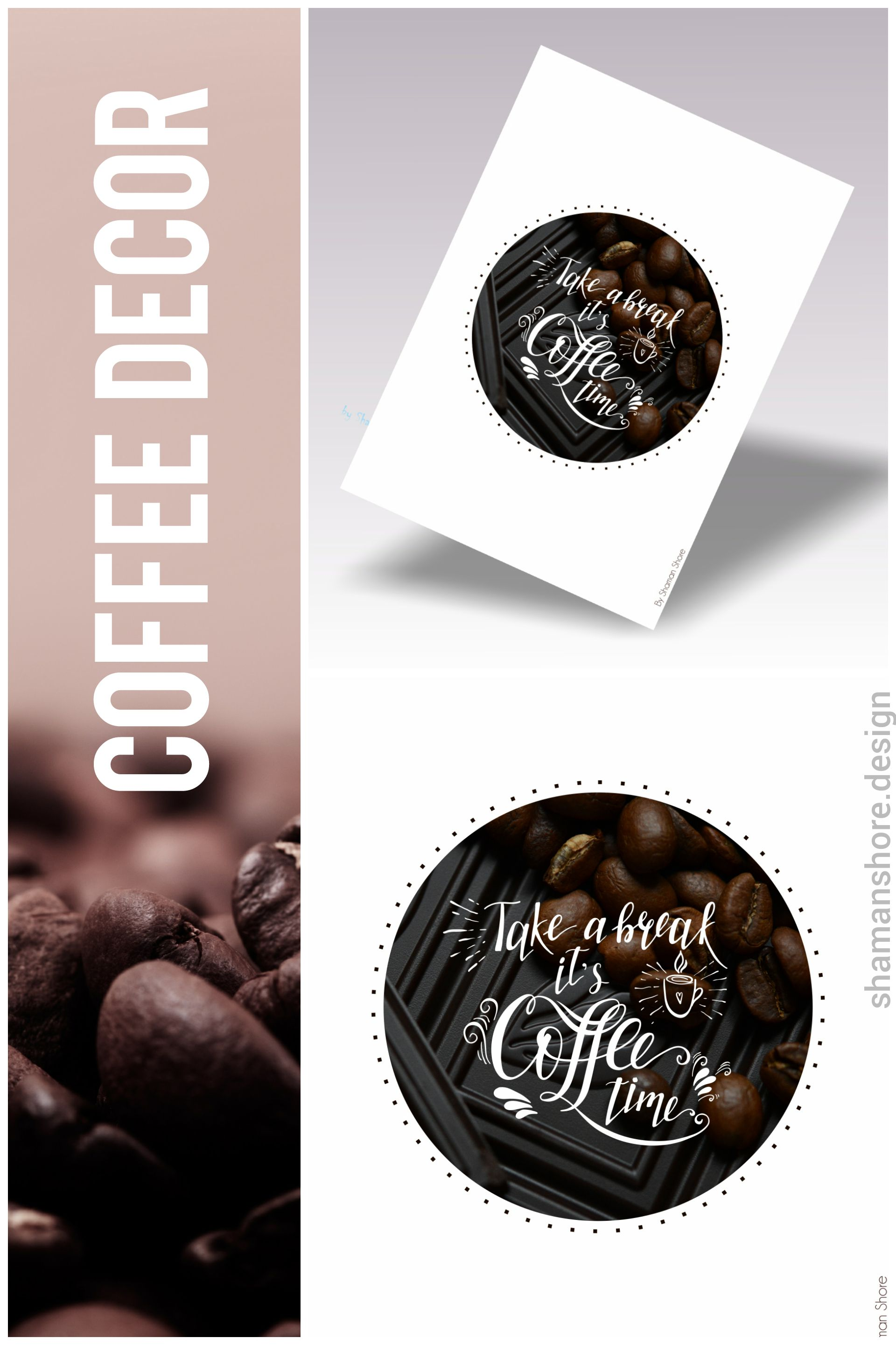 Coffee décor kitchen wall art coffee décor printable coffee quote