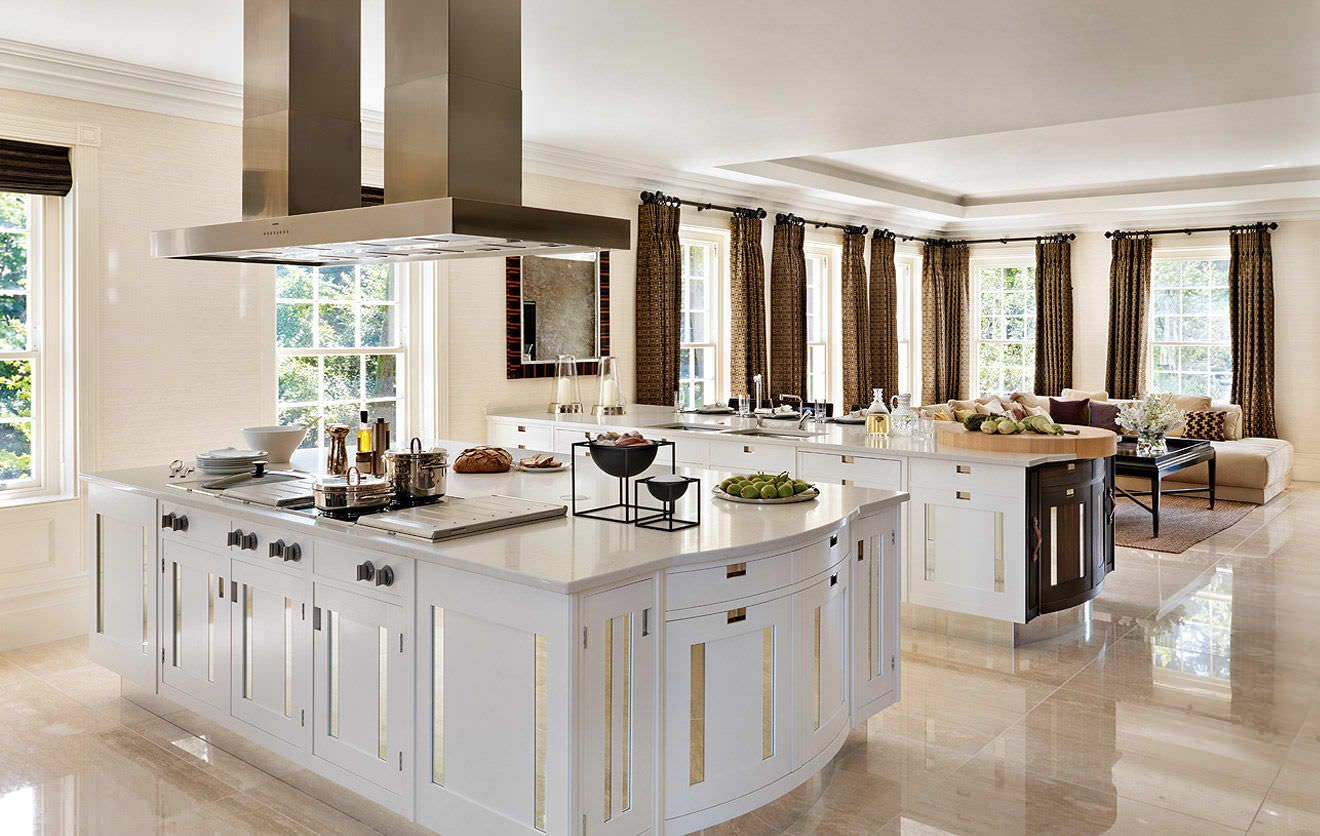 Cocinas Modernas Con Isla Decoracion De Interiores Diseno De Interiores Decoracion De Cocina Moderna Isla Cocina Moderna Islas De Cocina
