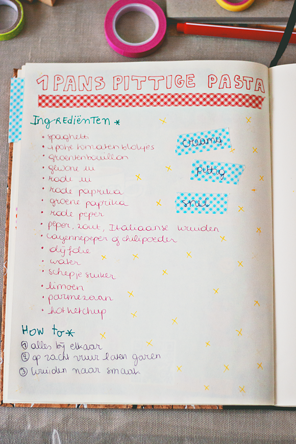 Onwijs Maak je eigen receptenboek | Receptenboeken, Doe het zelf, Limoenen CI-16