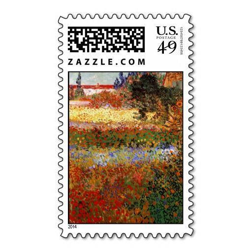 Van Gogh Flowering Garden Fine Art Postage Stamps Today Price Drop And  Special Promotion. Get The Best BuyThis Deals Van Gogh Flowering Garden  Fine Art ...