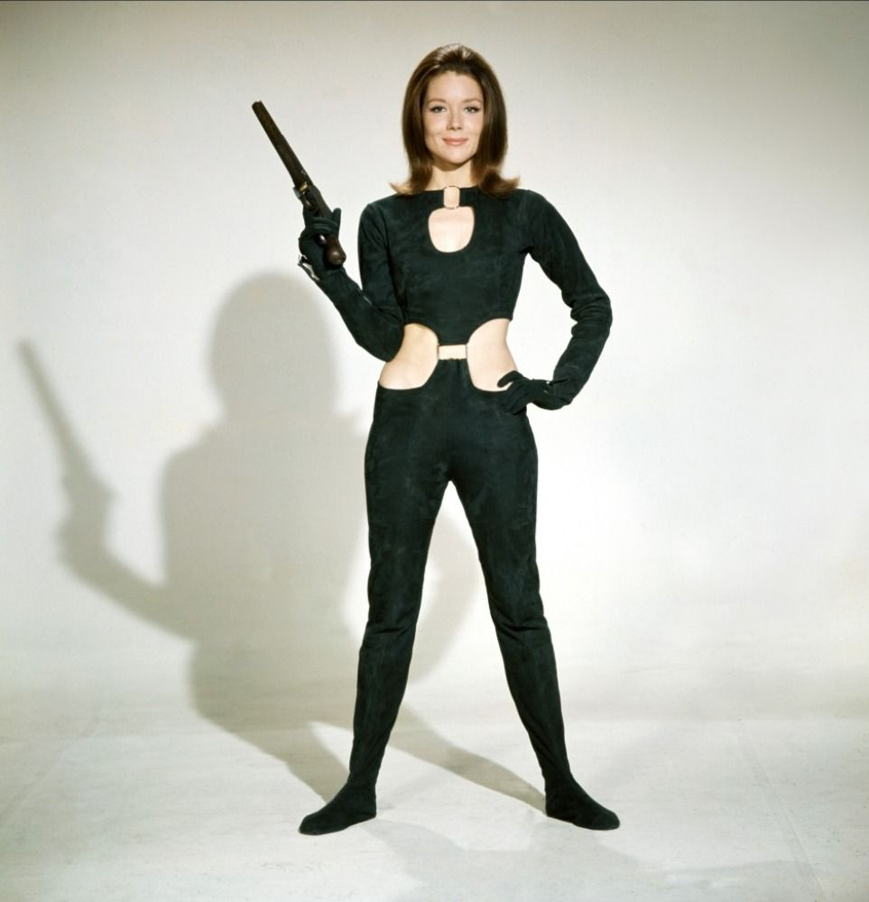 diana rigg height