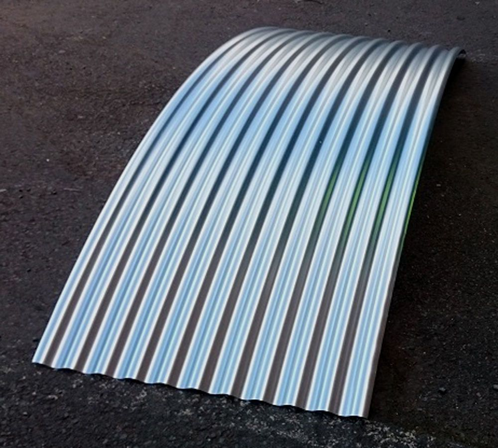 Curved Corrugated 0 7mm Galvanised Steel Roof Sheets