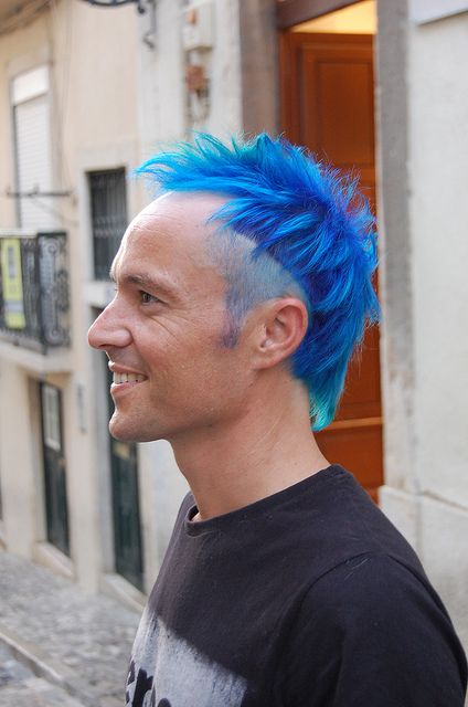 Blue With A Dash Of Green Hair Inspiration Color Burgundy Hair Men Hair Color