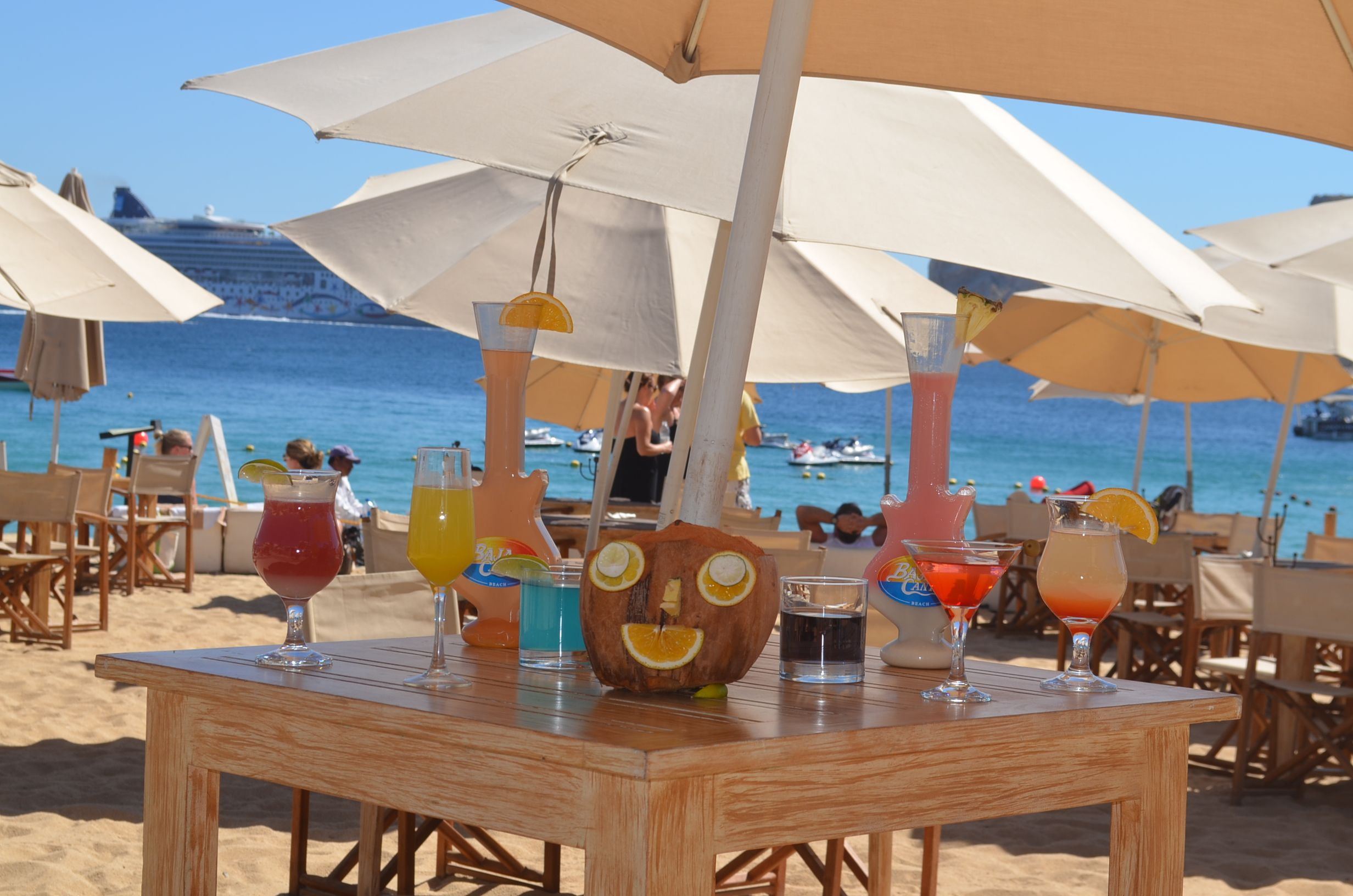 baja cantina medano beach a magical option to relax sunbathe eat - Cabo Villas Medano Beach