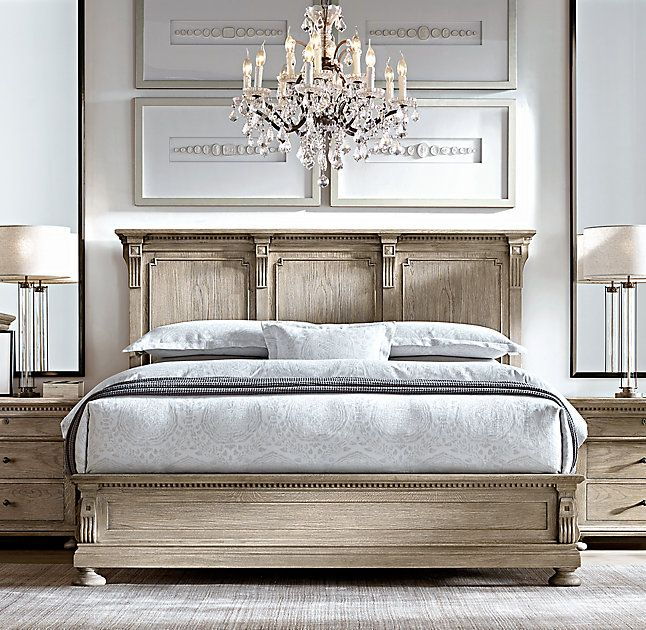 High Quality RHu0027s St. James Panel Bed:Evoking The Architectural Classicism Of Turn Of