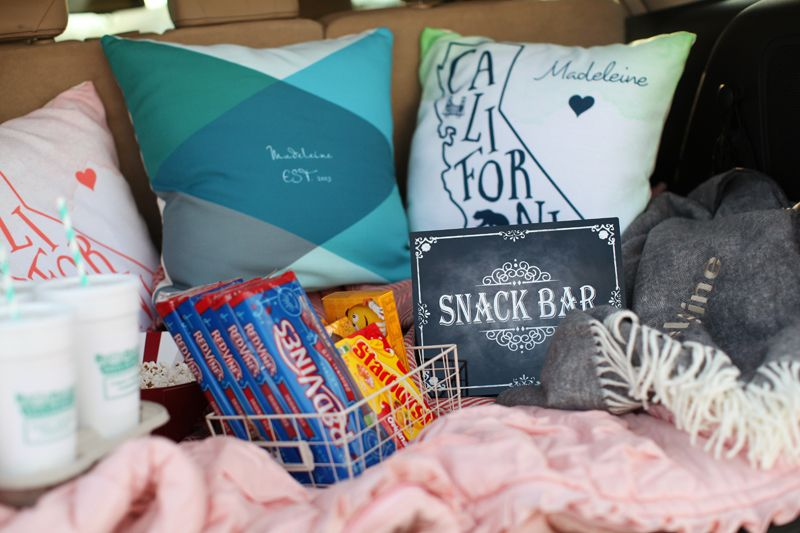 DriveIn Movie party ideas Tween Girl Birthday Party Ideas Sweet
