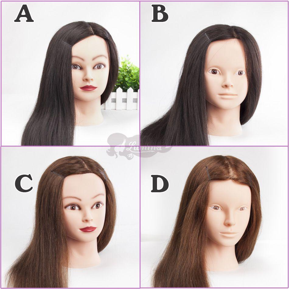 Pin on Hairdressing Training Heads 100 Human Hair