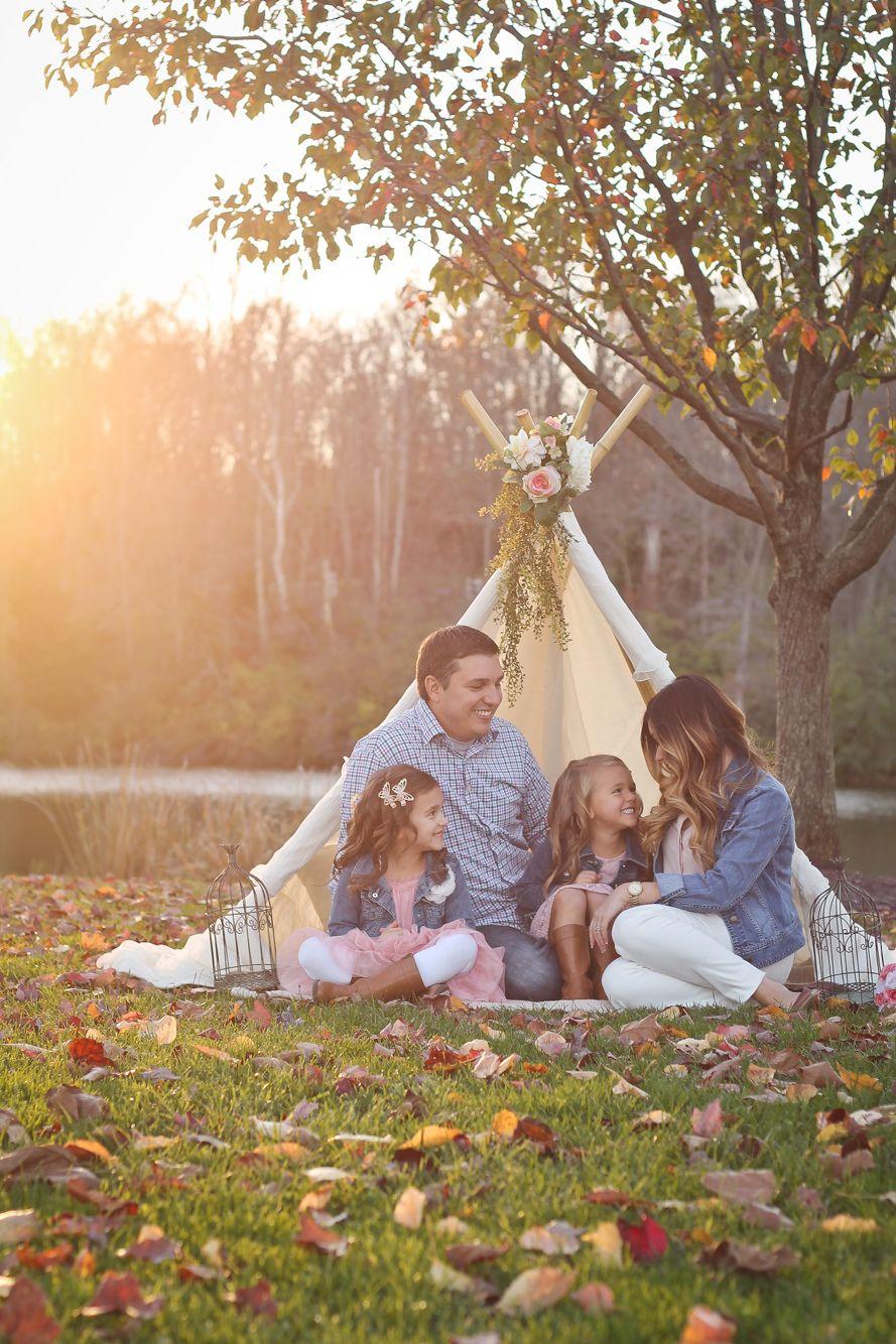 otoño fotos familiares