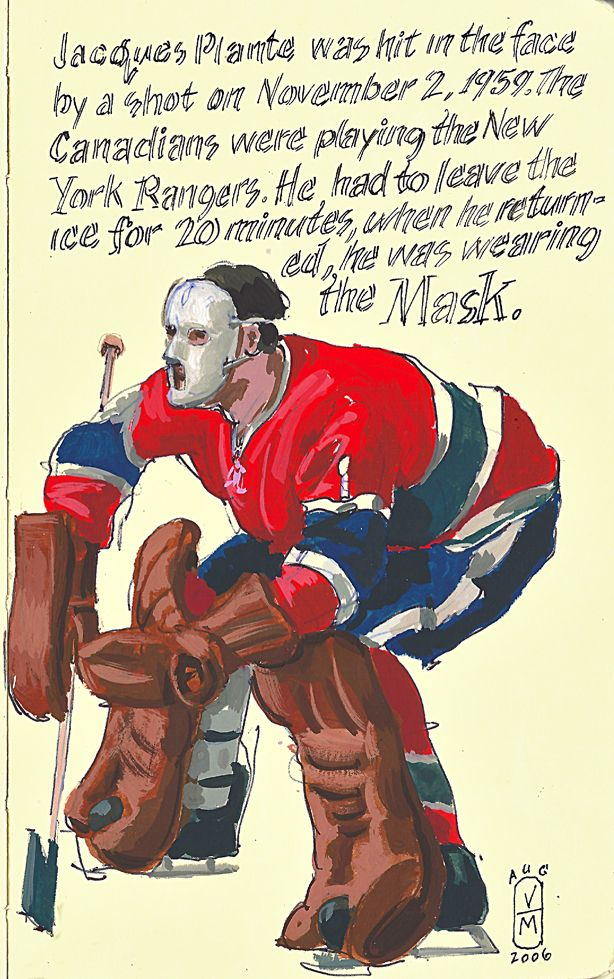 The innovator, Jacques Plante http//youtu.be/yMbXU4njAw4
