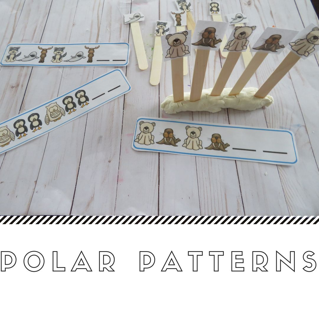Polar Animals Math And Literacy Centers For Preschool