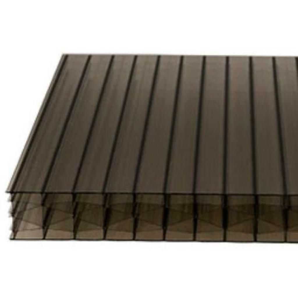 25mm Bronze Multi Wall Polycarbonate Roofing Sheet Roofing Sheets Roofing Polycarbonate