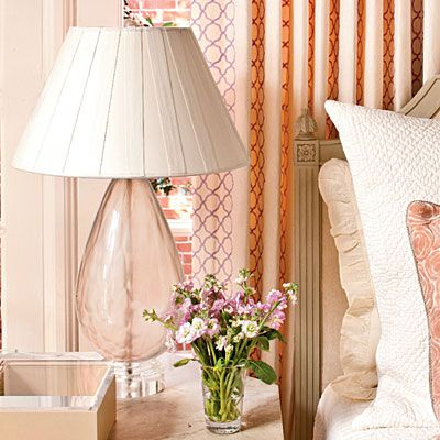 Pick The Right Lamp. Bedside Table LampsGlass ...