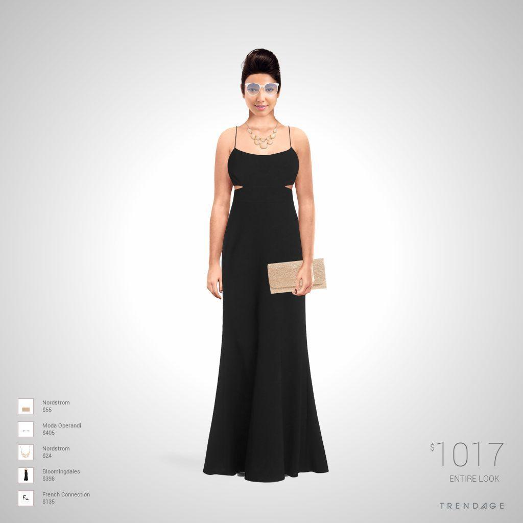 tenue de la mode faite par Gada en utilisant les vêtements de Nordstrom, Moda Operandi, Bloomingdales, French Connection. Look créé sur Trendage.