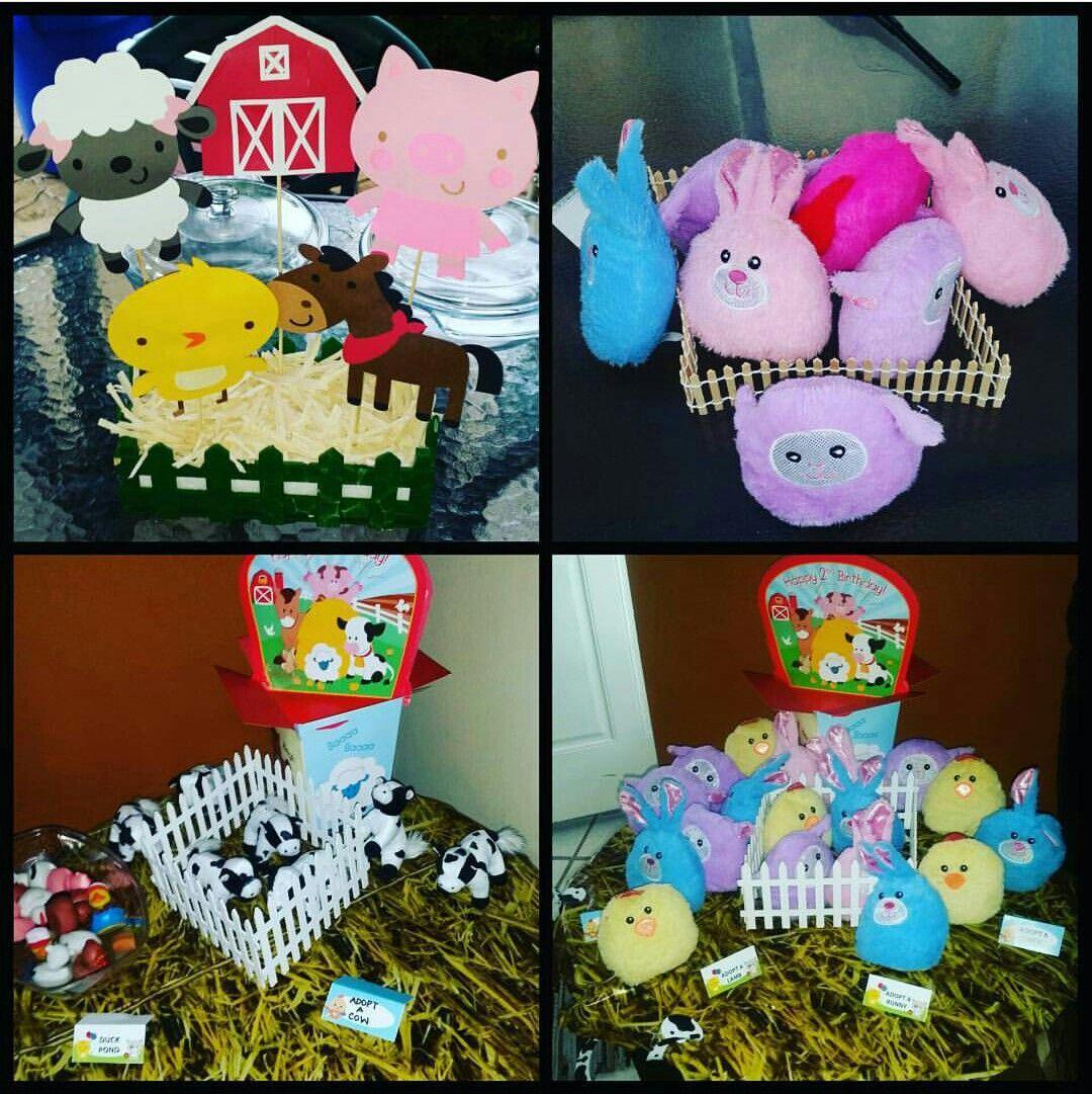 Graydon 2nd Birthday , Farm Birthday Party theme. Decoration made by @hazeljulez @marilyn_926
