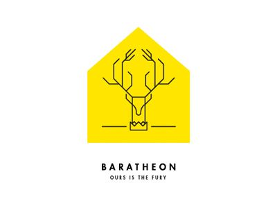 A Song Of Ice And Fire Game Of Thrones Baratheon House Sigil
