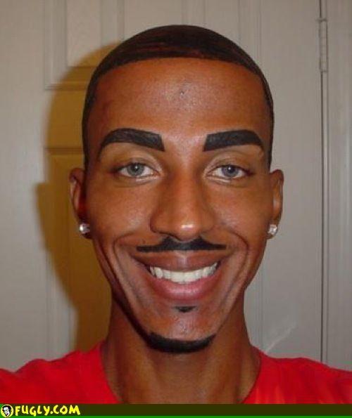 Metrosexual eyebrows