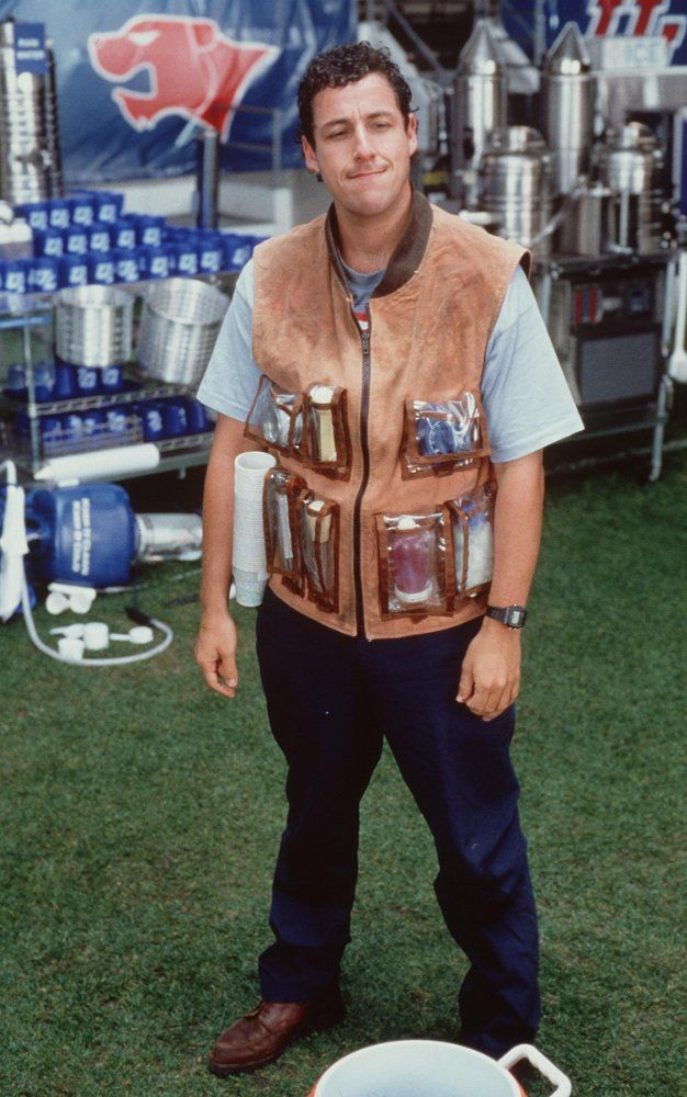 Adam Sandler in The Waterboy (1998) (avec images)