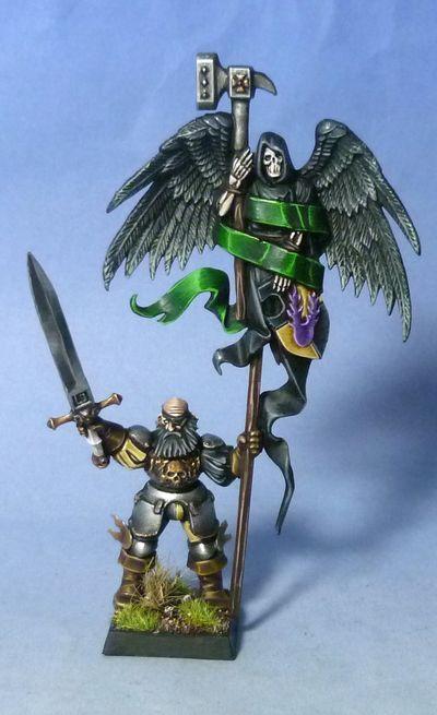 Empire battle standard bearer on commission!