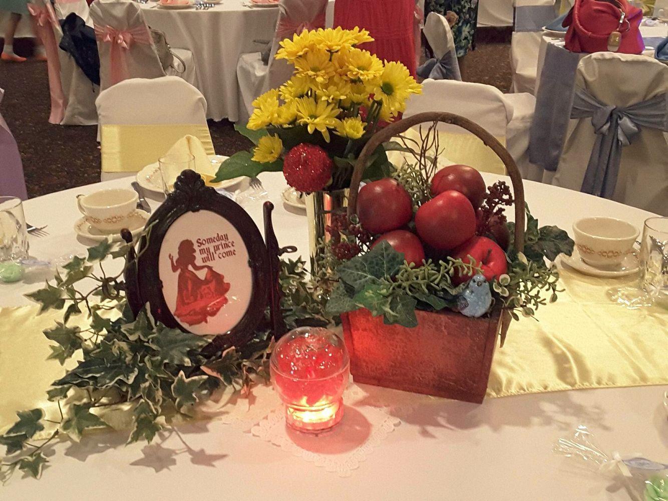 Snow White centerpiece | Wedding stuff | Pinterest | Snow white ...