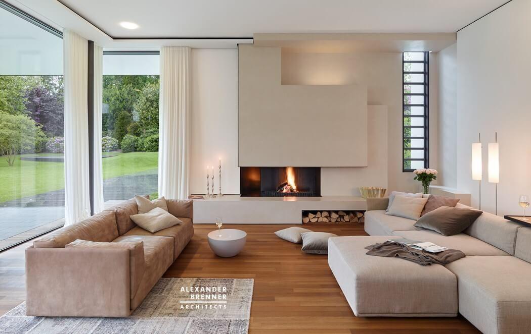 Bredeney House by Alexander Brenner Architects MODERN INTERIORS - moderne wohnzimmer couch