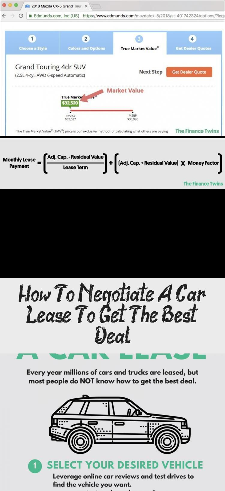 How To Negotiate A Car Lease To Get The Best Deal Cars Car Lease Negotiation Lease