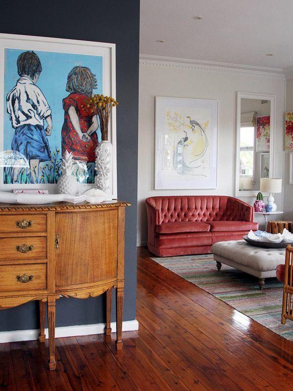 Wandfarben fürs Wohnzimmer traditionell klassisch kommode Bad - wandfarben fürs wohnzimmer