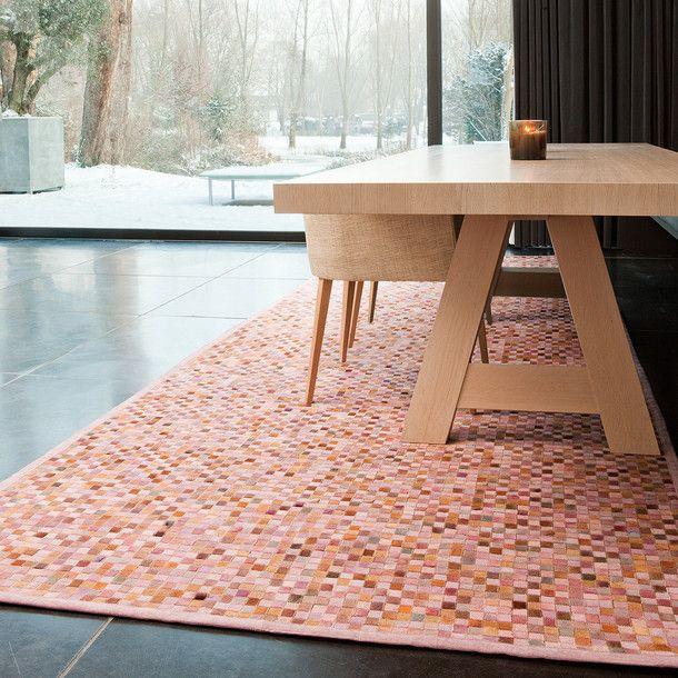 Teppich Niki 160x230 Pink Papilio euFab für Schlafzimmer - teppich für schlafzimmer