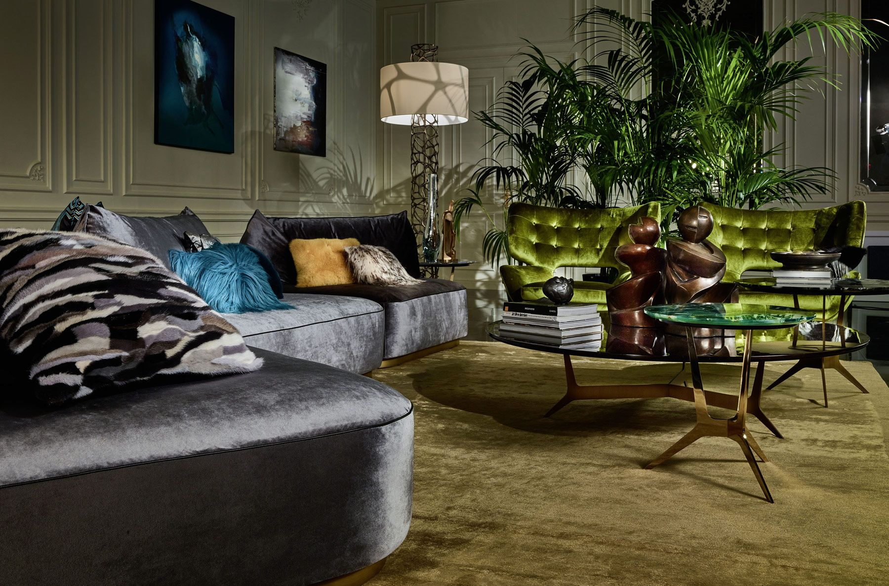 roberto cavalli welcomes 2017 with a fresh home interiors